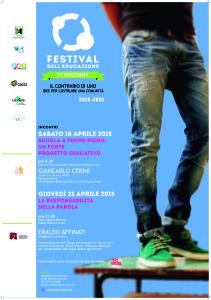 Festival Educazione Aprile 2015